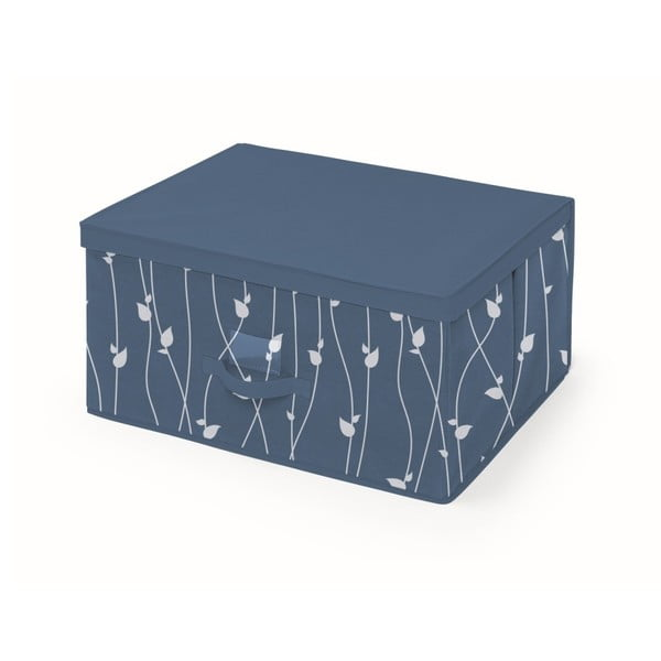 Modrý úložný box Cosatto Leaves, šířka60cm