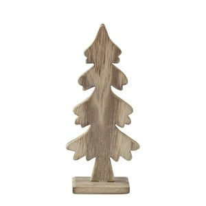 Statuetă decorativă KJ Collection Tree Natural Wood, 19 cm
