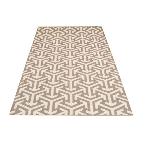 Ručně tkaný koberec Kilim 305 no2 Grey, 155x240 cm