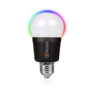 Chytrá LED žárovka s možností bluetooth ovládání Veho Kasa, E27