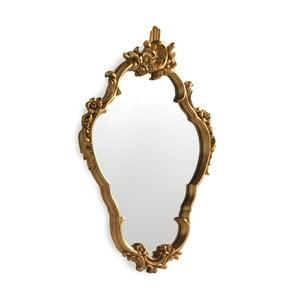 Nástěnné zrcadlo ve zlaté barvě Geese Baroque, 58x80cm