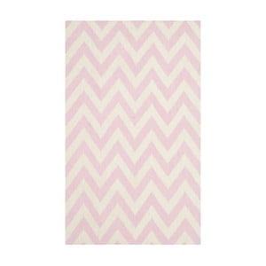 Vlněný ručně tkaný koberec Safavieh Nelli, 91x152cm