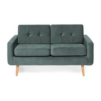 Canapea cu 2 locuri Vivonita Ina Trend, albastru – gri de la Vivonita