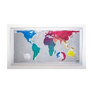 Mapa světa The Future Mapping Company Huge Future Map, 196x100 cm