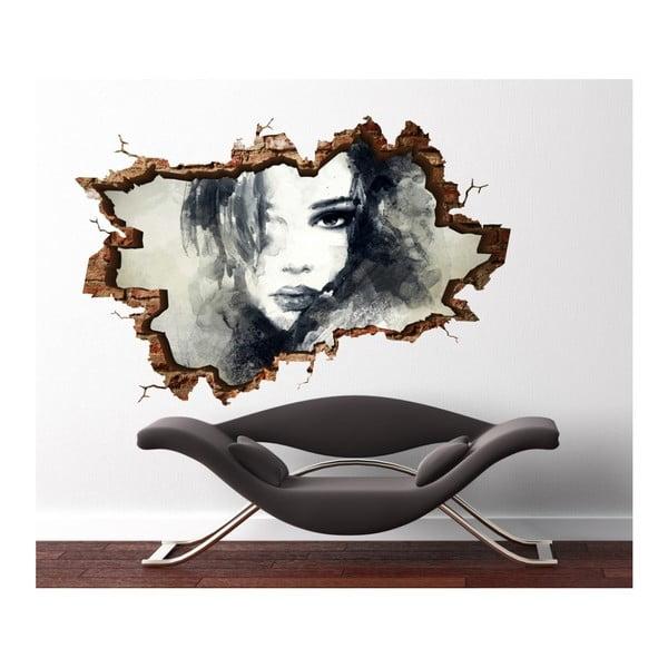 Autocolant de perete 3D Art Sien, 70 x 45 cm