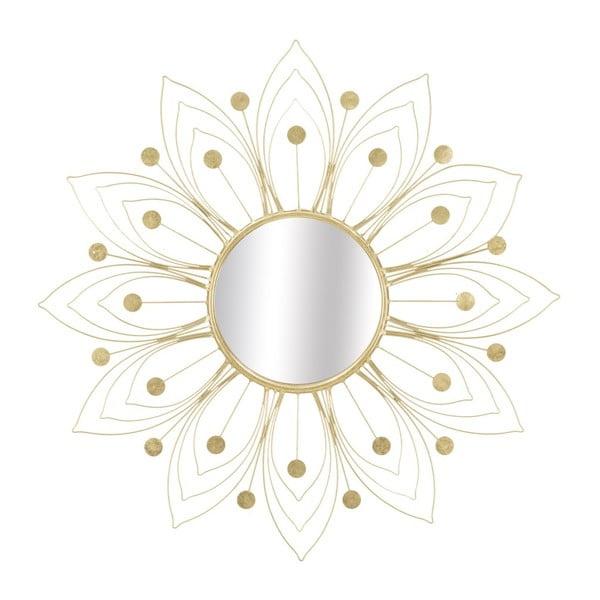 Nástenné zrkadlo v zlatej farbe Mauro Ferretti Glam, ⌀ 80 cm