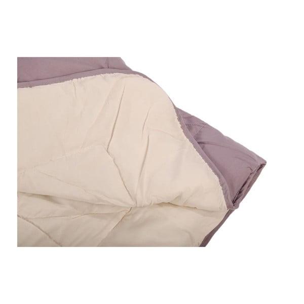 Přehoz na postel Duveta Violet Creme, 220x240 cm