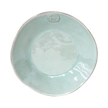 Farfurie din ceramică pentru supă Costa Nova, ⌀ 25 cm, turcoaz de la Costa Nova