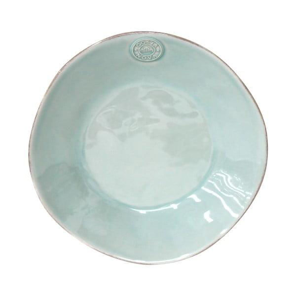 Farfurie din ceramică pentru supă Costa Nova, ⌀ 25 cm, turcoaz