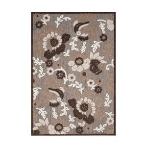 Hnědý koberec vhodný i na ven Safavieh Oxford, 99 x 160cm