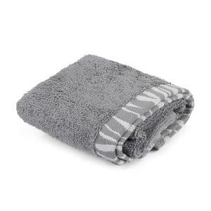 Šedý bavlněný ručník Joey,30x50cm