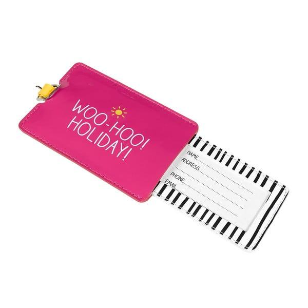 Etichetă pentru valiză Happy Jackson Woo Hoo