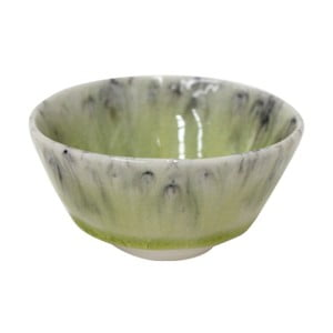 Zelená miska z kameniny Costa Nova, ⌀9cm