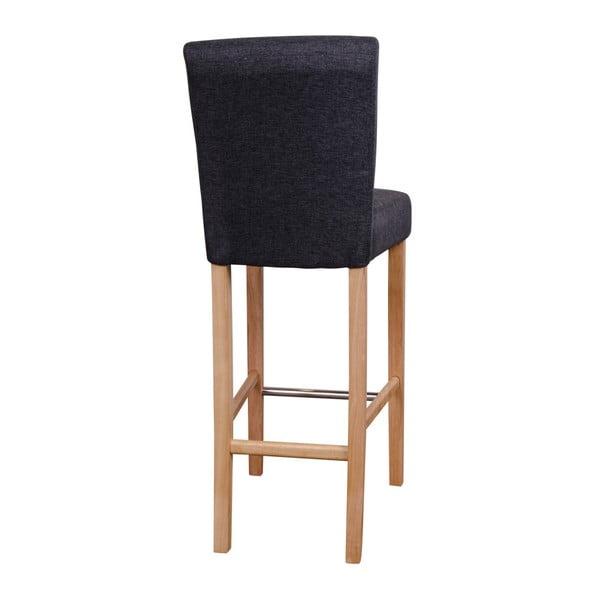 Sada 2 šedých barových židlí House Nordic Boden