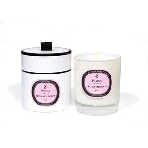 Lumânare parfumată Parks Candles London Aromatherapy, aromă de trandafiri, 45 ore