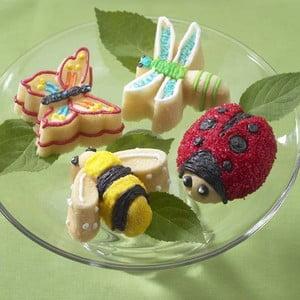 Formičky na mini bábovičky, beruška a kamarádi