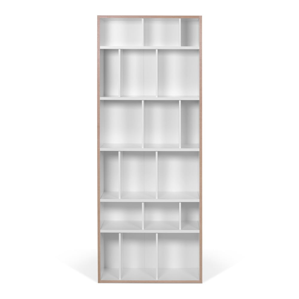 Bílá knihovna TemaHome Group, šířka 72cm