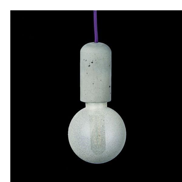 Fialové svítidlo od Jakuba Velínského, 1,2 m