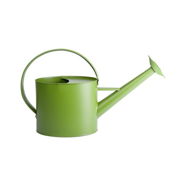 Zelená zahradní konvička Esschert Design Watering, 4,3 l