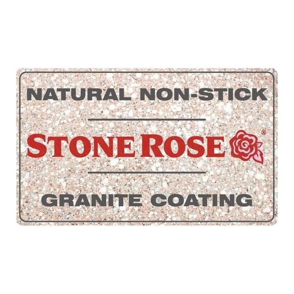 10dílný set nádobí s poklicemi Bisetti Stonerose Rose