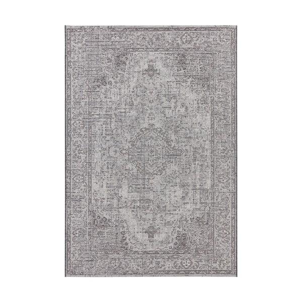 Šedý koberec vhodný do exteriéru Elle Decor Curious Cenon, 192 x 290 cm