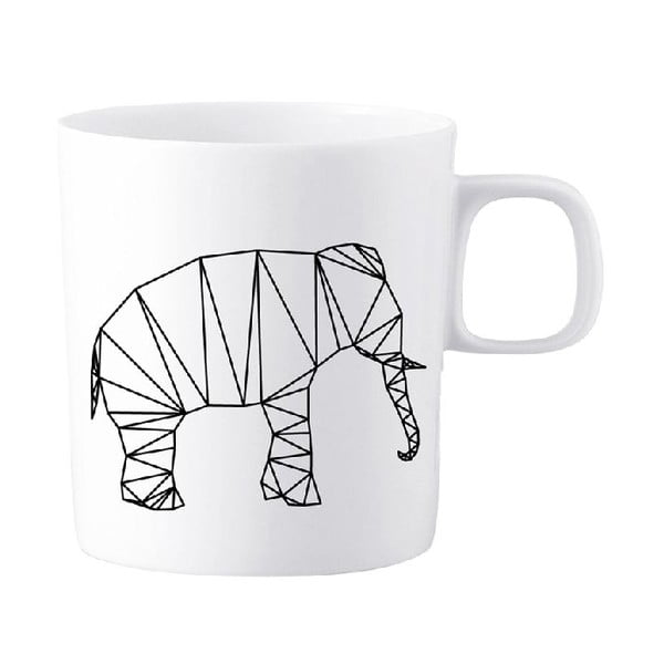 Porcelánový hrnek We Love Home Origami Elephant