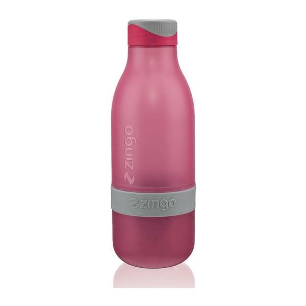 Lahev na vodu s citronem Zingo Pink