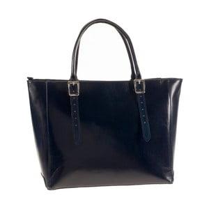 Modrá kožená kabelka Ore Diece Talla