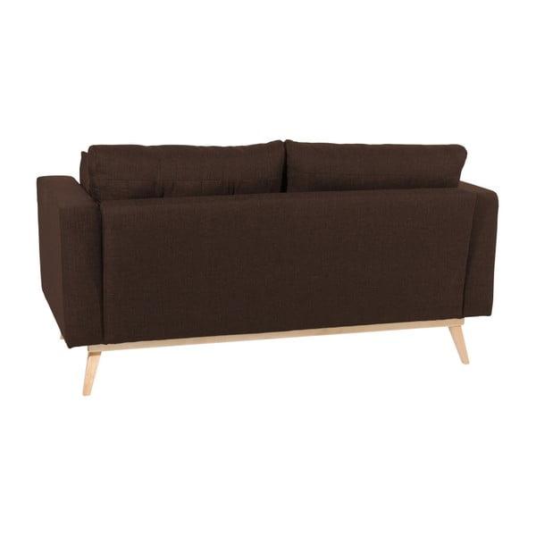 Canapea cu 2 locuri Max Winzer Tomme, maro