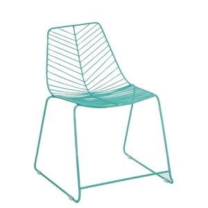 Tyrkysová židle Ixia Garden