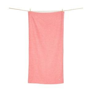 Rychleschnoucí červený ručník DockandBay Active