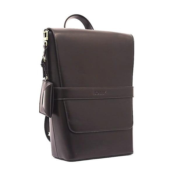 Elegantní batoh Bobby Black - kávová