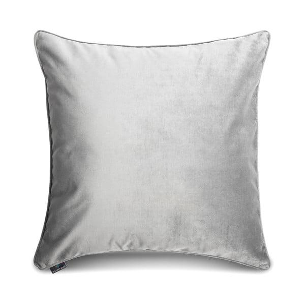 Poszewka na poduszkę w srebrnym kolorze WeLoveBeds Silver, 50x50 cm