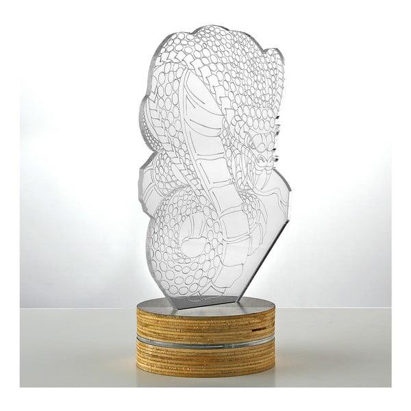 3D stolní lampa Snake