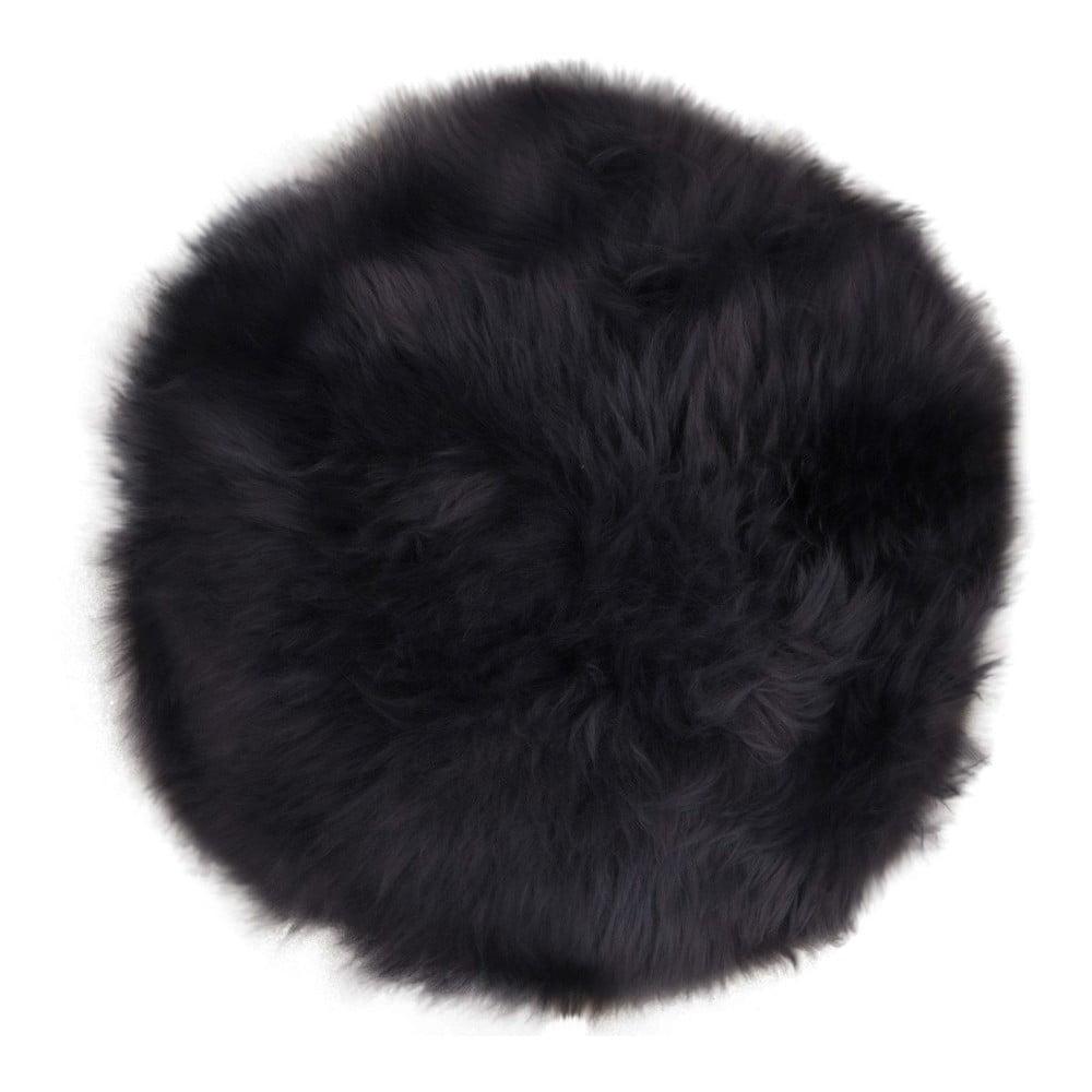 Tmavě šedá ovčí kožešina House Nordic Circle
