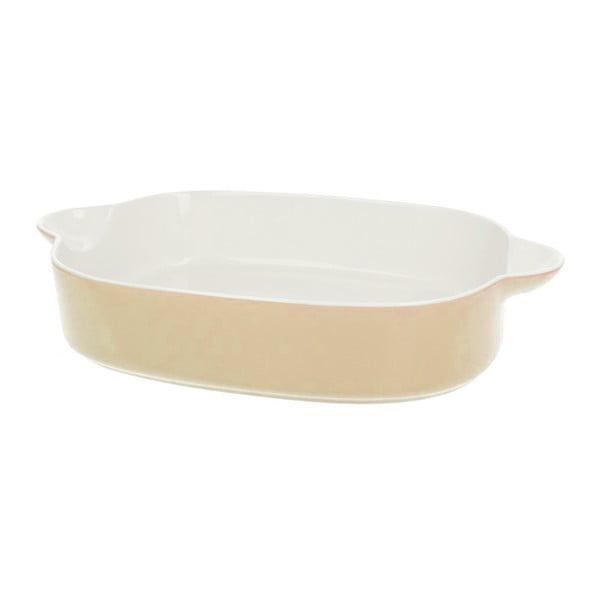 Porcelánová zapékací mísa Pot Cream, 35.5 cm