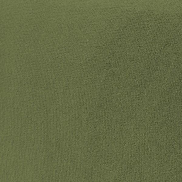 Olivově zelené křeslo Vivonita Klara