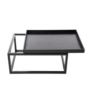 Konferenční stolek Tip, černý