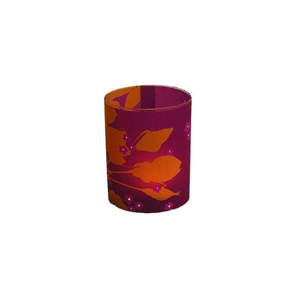 Svícen Rapsberry Rose, 10 cm
