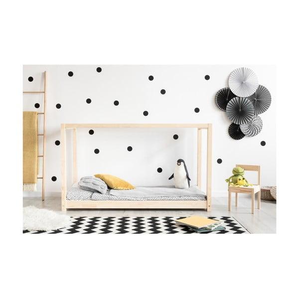 Domečková postel z borovicového dřeva Adeko Mila KM,90x140cm