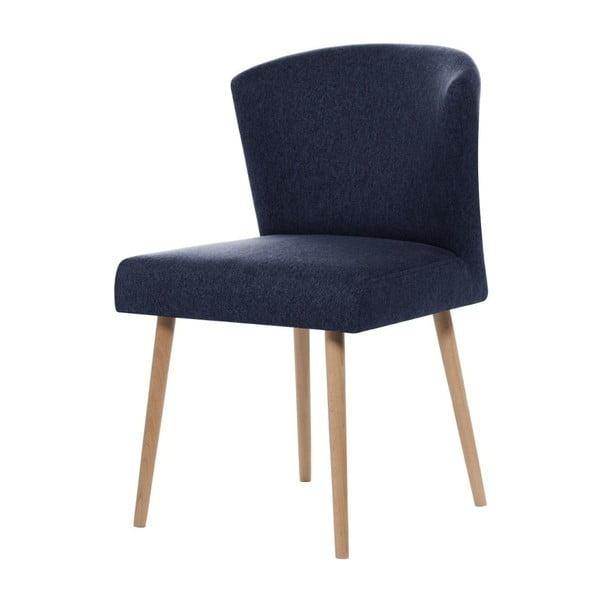 Tmavomodrá jedálenská stolička Rodier Richter
