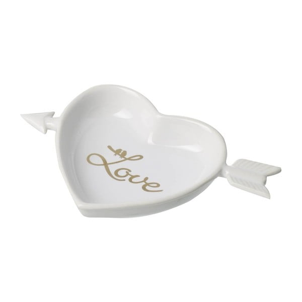 Bílá miska Parlane Heart Love