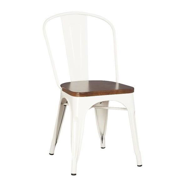 Kovová židle Moycor, bílá