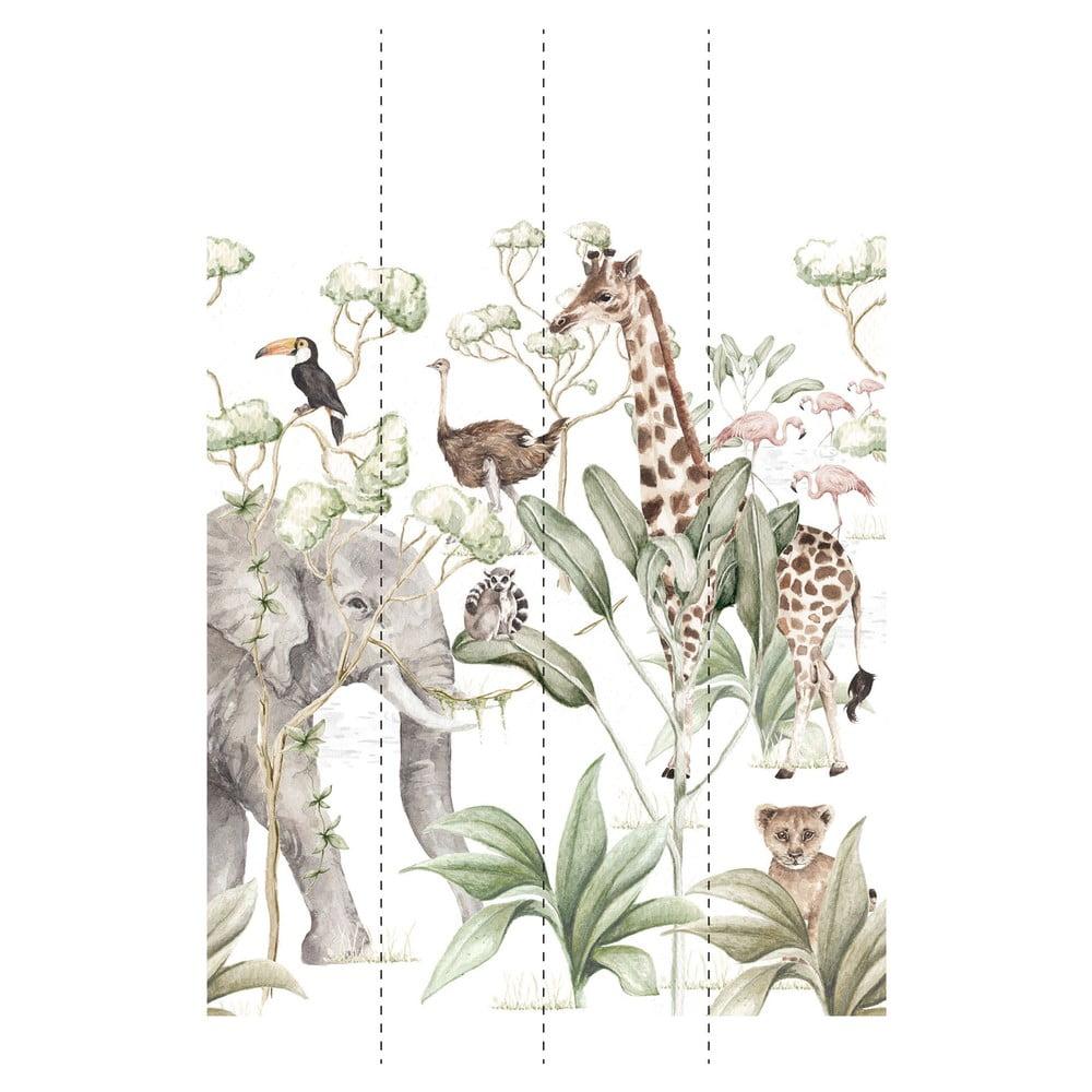 Produktové foto Nástěnná tapeta Dekornik Savana Adventure, šířka sady 200cm