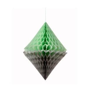 Papírová dekorace Honeycomb Diamond
