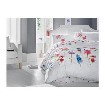 Lenjerie de pat cu cearșaf Spring, 160 x 220 cm de la Cotton Box