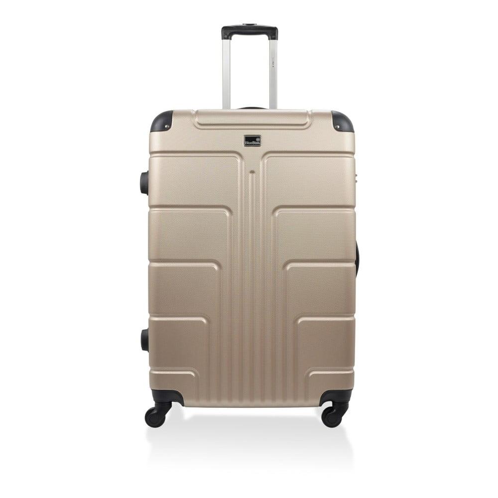 Béžový kufr na kolečkách Blue Star Ottawa, 46 l