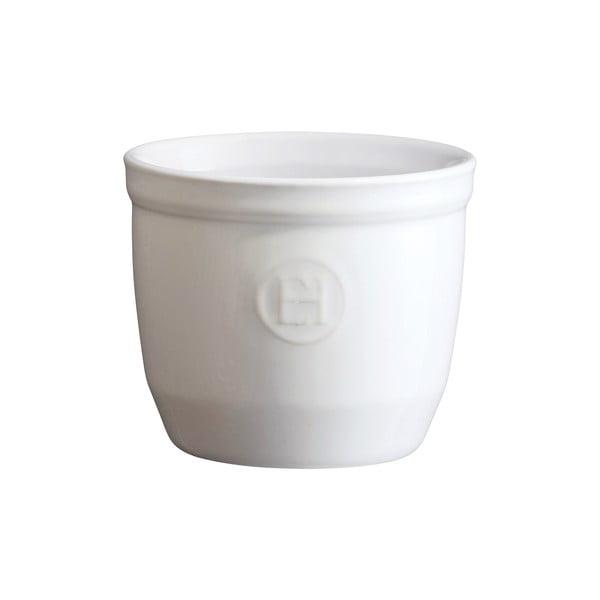 Formă ramekin Emile Henry N°8, ⌀ 8,5 cm, alb