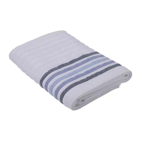 Bílý ručník z bavlny Bella Maison Stripe, 50 x 90 cm
