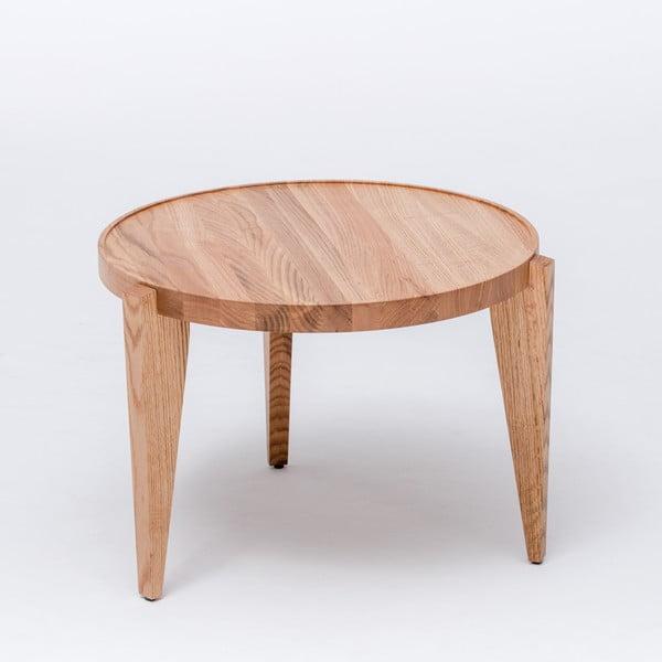 Dubový kávový stolek Bontri, 60x44 cm